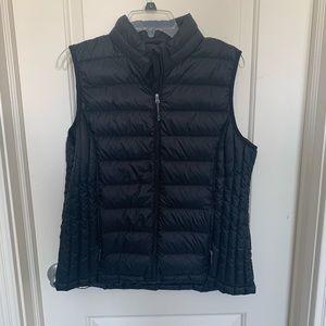Black puffer vest!